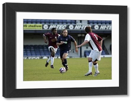 ENGLAND, SOUTHEND, ROOTS HALL - 07/01/08 - RESERVE LEAGUE - SOUTHEND V NORTHAMPTON: DAMIAN SCANNELL ON THE MARCH AGAINST NORTHAMPTON. CREDIT: DAVID SCRIVEN