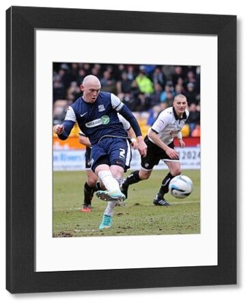 Sean Clohessy (Southend United) scores from the penalty spot to make it 1-0 - Port Vale vs. Southend United - npower League Two at Vale Park, Burslem - 09/03/2013 - Mandatory Credit: Pixel8 Photos/Michael Whitefoot - 0 - - NO UNPAID USE