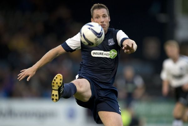 Neil Harris (Southend United) - Southend United vs. Ipswich Town - Pre-Season Friendly at Roots Hall, Southend - 31/07/12 - NO UNPAID USE