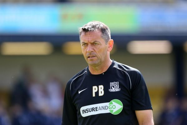 SkyBet League 2 - Southend United v Morecambe at Roots Hall Stadium. Phil Brown Mandatory Credit: Stephen Lawrence(Southern News and Pictures)/Southend United ? NO UNPAID USE