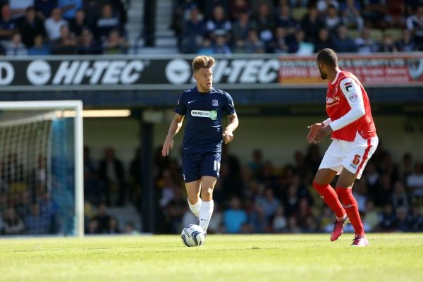 SkyBet League 2 - Southend United v Morecambe at Roots Hall Stadium. Kevan Hurst Mandatory Credit: Stephen Lawrence(Southern News and Pictures)/Southend United ? NO UNPAID USE