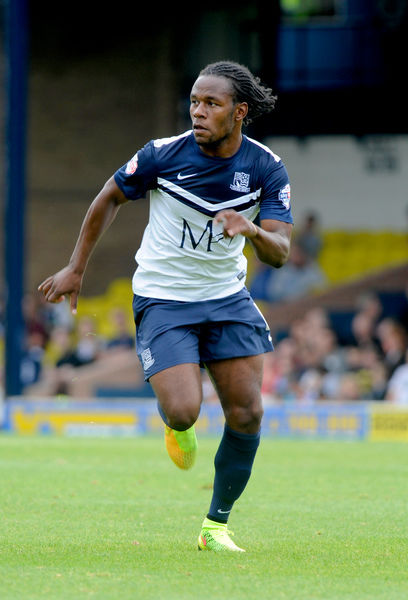 Skybet League 2: Southend v Shrewsbury  Credit: Southern News and Pictures)/Southend United ? NO UNPAID USE. Shaq Coulthirst