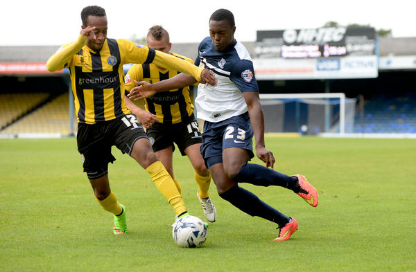 Skybet League 2: Southend v Shrewsbury  Credit: Southern News and Pictures)/Southend United ? NO UNPAID USE. Jerome Williams