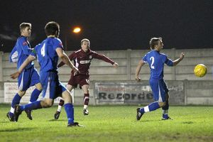 Essex Senior Cup Semi Final - Aveley vs. Southend United - 28/02/11