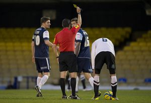FA Cup First Round with Budweiser - Southend United vs. Stockport County - 03/11/12