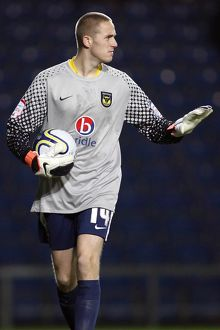 JPT (Southern) Area Quarter Final - Oxford United vs. Southend United - 08/11/11