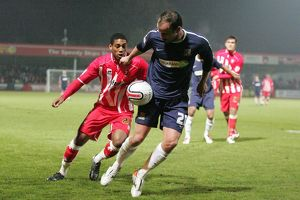 npower League Two - Cheltenham Town vs. Southend United - 14/12/10