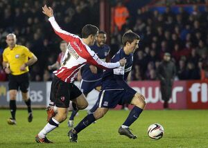npower League Two - Exeter City vs. Southend United - 12/01/2013