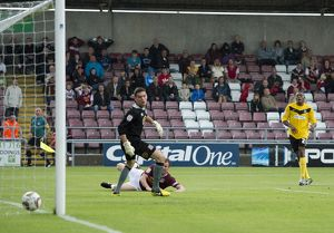 npower League Two - Northampton Town vs. Southend United - 25/08/12