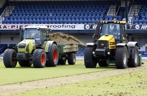 Roots Hall Pitch Maintenance