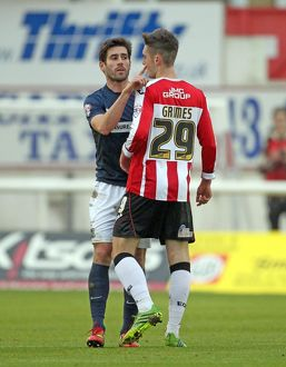 SkyBet League 2 - Exeter City v Southend United at St James' Park. Michael Timlin