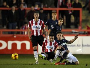SkyBet League 2 - Exeter City v Southend United at St James' Park. Ryan Leonard