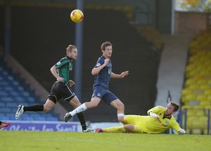 Southend Utd v Rochdale League 1 Football at Roots Hall Southend on Sea Essex- Saturday