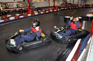 Team Bonding - Southend United Go-Karting - 19/01/12